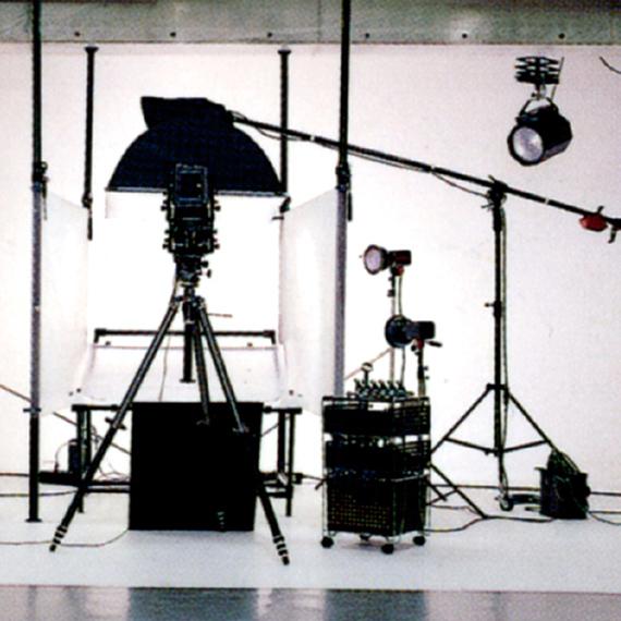 ジーピースタジオ風景